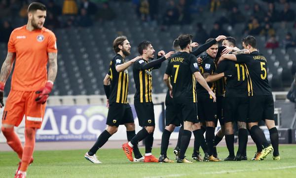 AEK-Κέρκυρα 3-1: Τα γκολ και οι φάσεις του αγώνα (video)