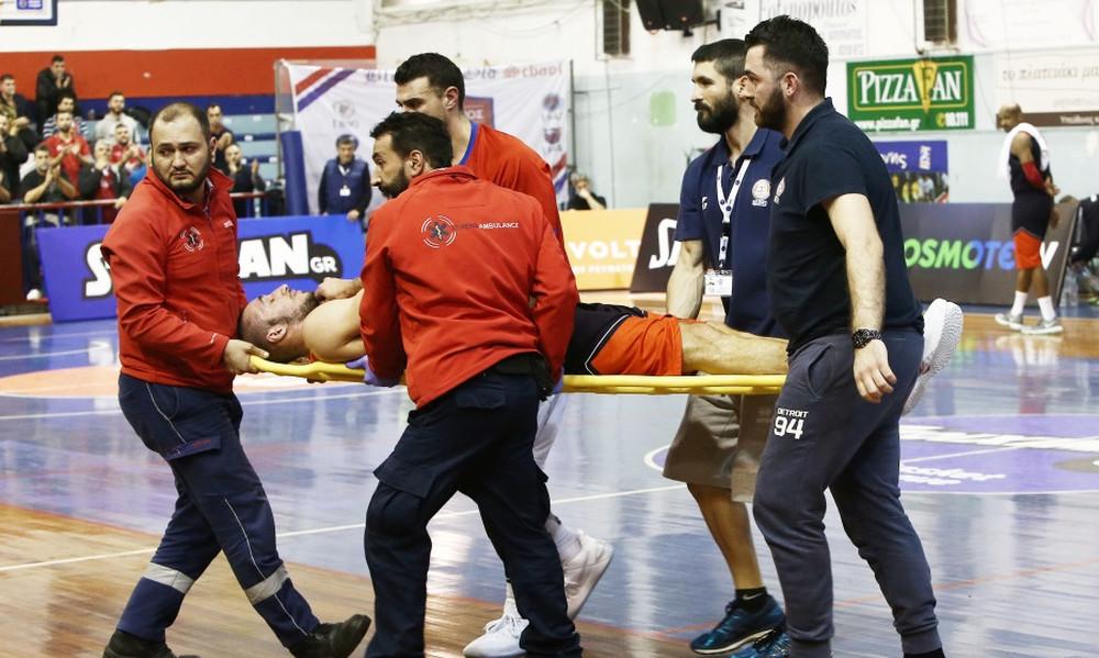 Σοκαριστικός τραυματισμός στο Πανιώνιος-Τρίκαλα (photos)