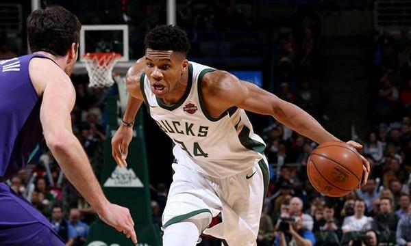 NBA: Έφερε την... ανατροπή στους Μπακς ο Αντετοκούνμπο (photos+video)