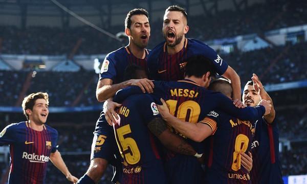 Ρεάλ Μαδρίτης - Μπαρτσελόνα 0-3: Ιστορική καταλανική τριάρα στο Clasico! (photos+videos)