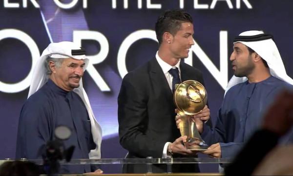 Tα σάρωσε ολα η Ρεάλ Μαδρίτης στα Globe Soccer Awards