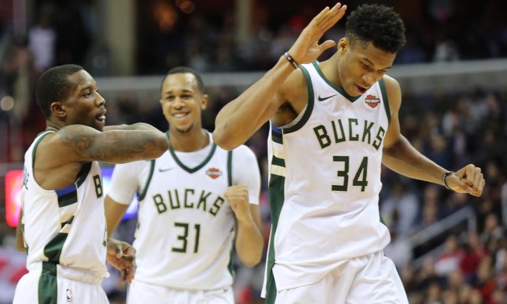 NBA: Μαγικά Αντετοκούνμπο με Ουίζαρντς! (photos+video)