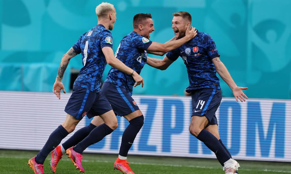 Euro 2020: Πολωνία - Σλοβακία 1-2